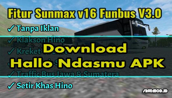 Download Hallo Ndasmu APK MOD BUSSID Keren Terbaru