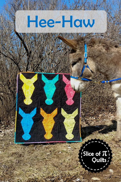 Hee-Haw quilt pattern by Slice of Pi Quilts
