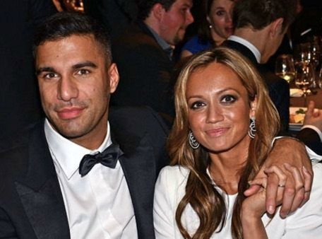 Kate Abdo with her Husband