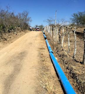 iniciada a obra de ampliação do sistema de abastecimento de água da cidade