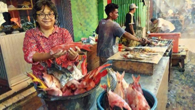 Ikan Siap Dibakar