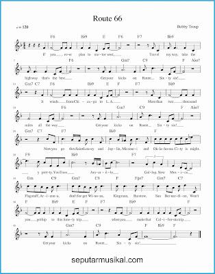 route 66 lagu jazz standar