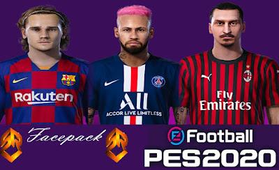 PES 2020 Facepack by SR