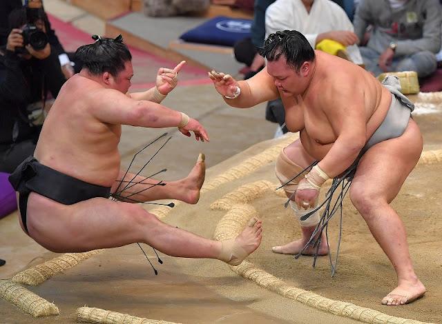 2018 March Grand Sumo Tournament, at Body Maker Colosseum, Osaka