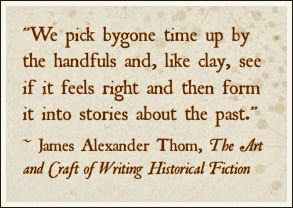 On the writing craft...