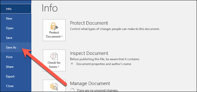 salvare un documento word Microsoft in pdf