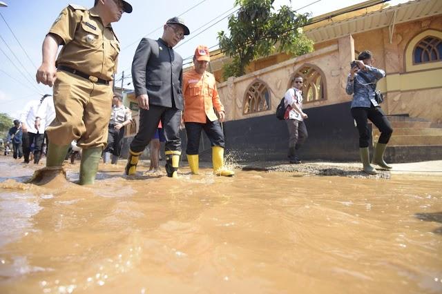 Atasi Banjir Baleendah, Ridwan Kamil Boyong Enam Pompa Air