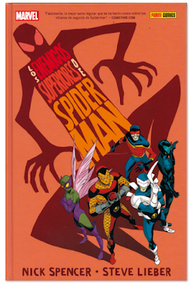 Comic humor - Los enemigos superiores de Spiderman Nick Spencer y Steve Lieber edita Panini Comics