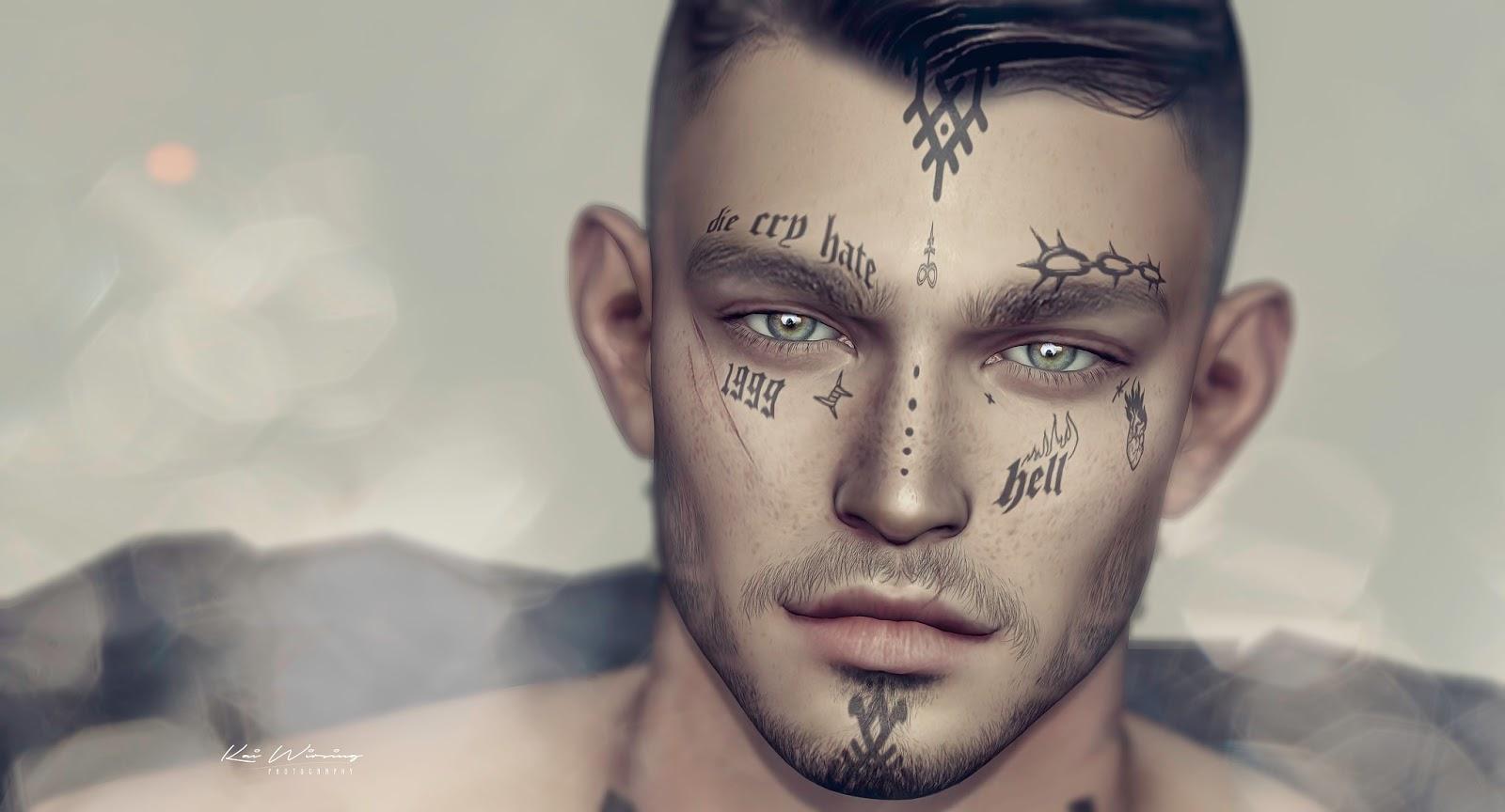 DAPPA - Hell Face Tattoo.@TMD