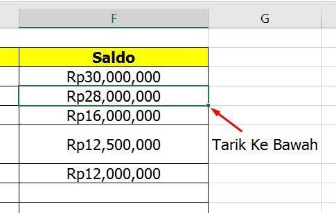 Laporan Keuangan di Microsoft Excel
