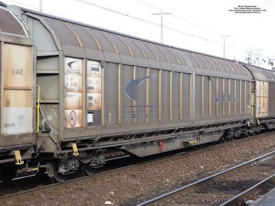Wagon kryty z rozsuwanymi ścianami, Habbillns, ZSSK Cargo