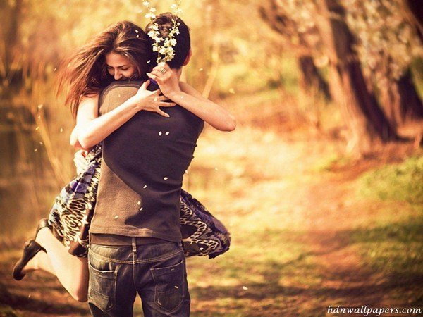 Romantic Images of Young Couple