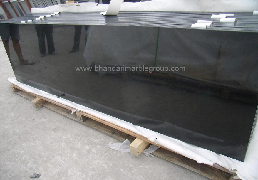 Best Italian Marble India Black Galaxy Granite