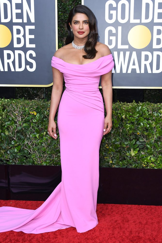 Priyanka Chopra Jonas channels classic glamour at the 2020 Golden Globe Awards