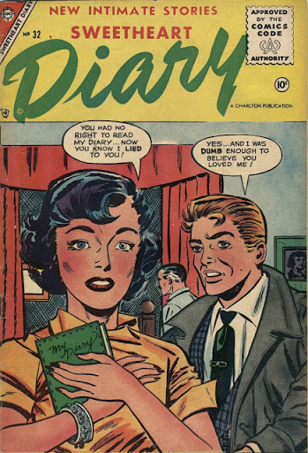 Sweetheart Diary #32 - #65 (1955 - 1962) Complete series [Charlton Comics Collection]