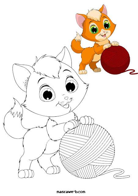 رسومات تلوين للاطفال جديدة 2