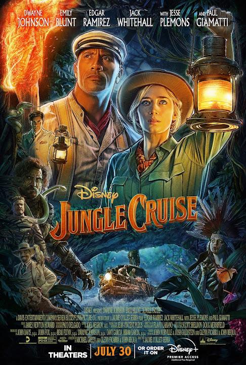 Jungle Cruise (Web-DL 720p Dual Latino / Ingles) (2021)