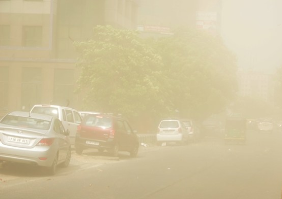 Noida Diary: Dust Storm in Noida