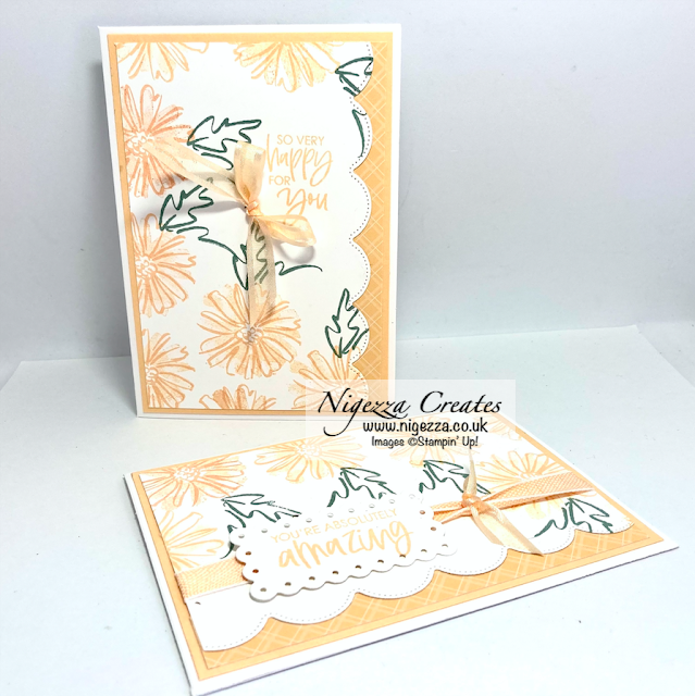 2 Stepped Up #simplestamping Cards with Colour & Contour