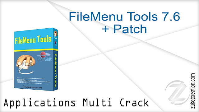 FileMenu Tools 7.6 + Patch
