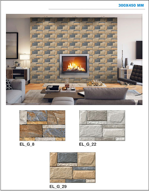 Elevation Wall Tiles Design