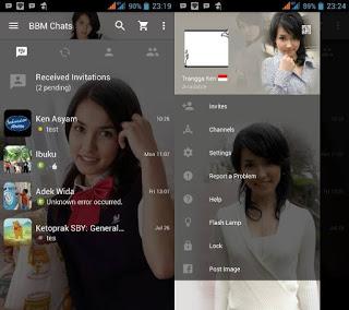 BBM Maria Ozawa V2.11.0.16  Apk Terbaru