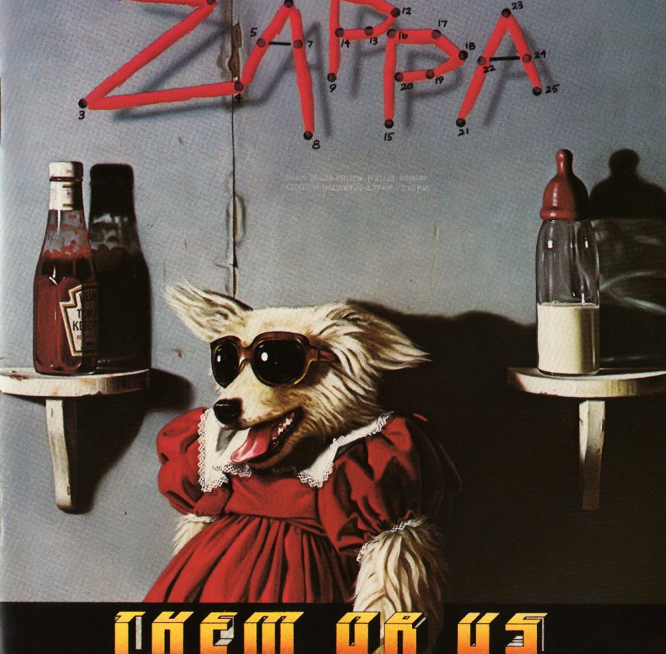 Beerblioteca Do Rock Frank Zappa Them Or Us 1984