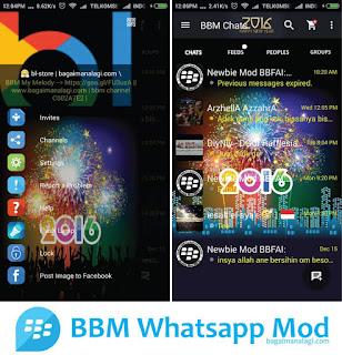 BBM MOD Happy New Year 2016