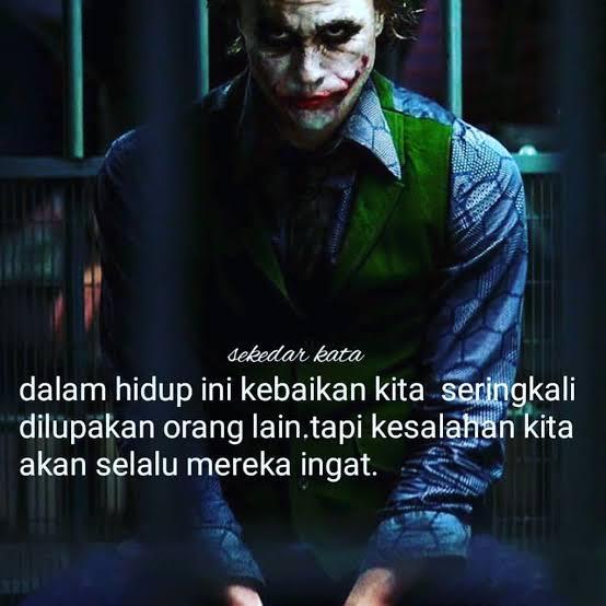 Kata Kata Bijak Gambar Joker Keren