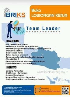 Loker PT Bringin Karya Sejahtera Bandung - Agustus 2020