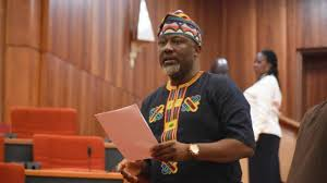 [VIDEO] Dino Melaye reacts to the nullification of his electoral victory