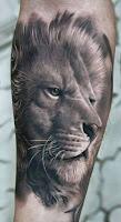 Tatuaje de león