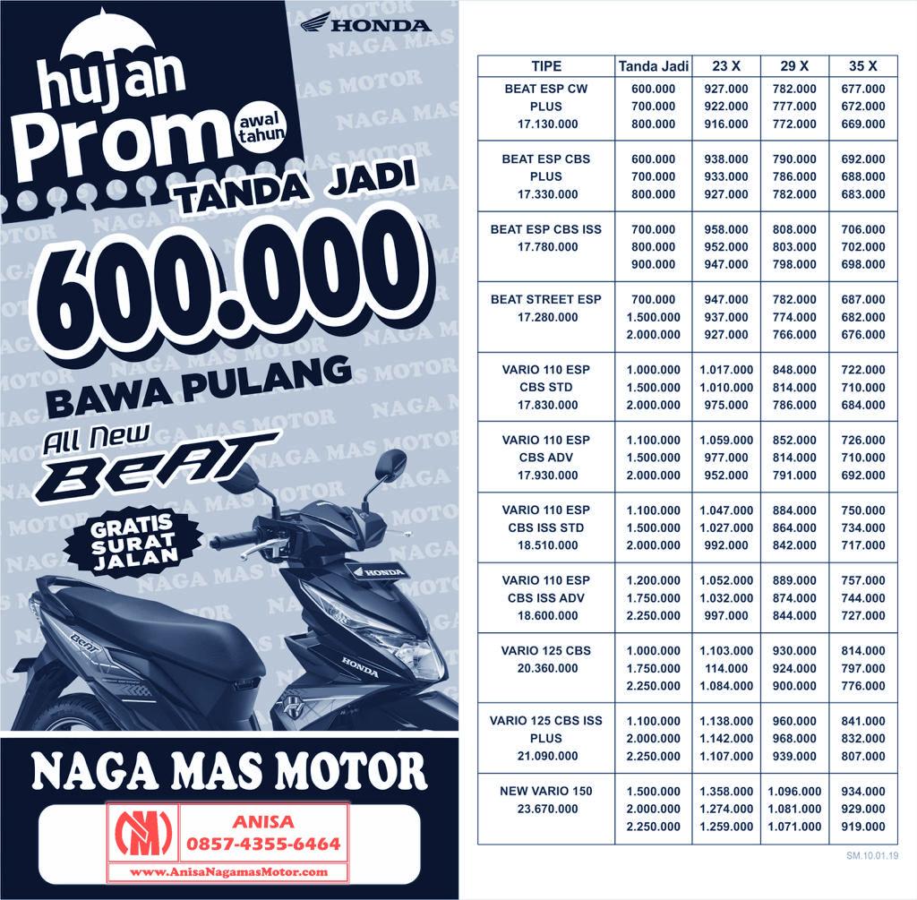 Promo Motor Honda Bulan Mei 2018