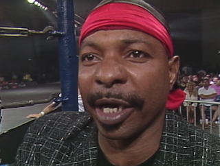 WCW Great American Bash 1990 - Teddy Long led Doom into battle against the Rock 'n' Roll Express