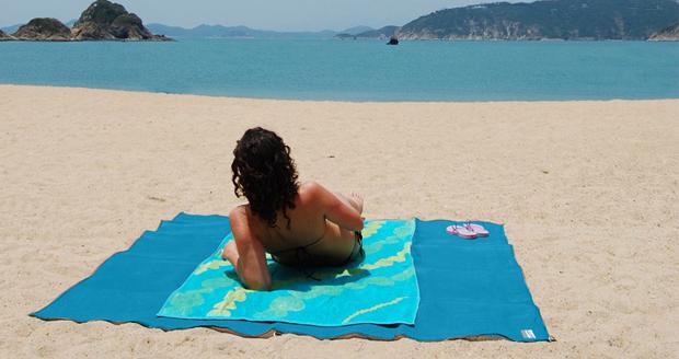 Sand Free Beach Mat