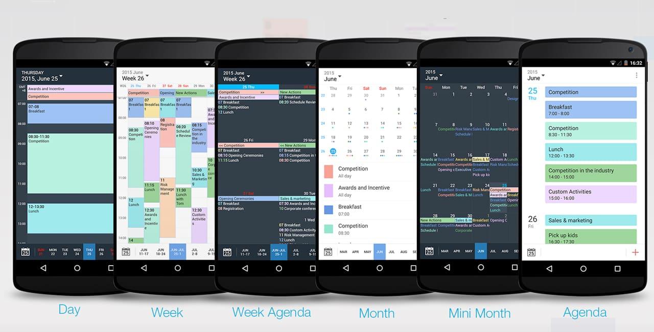 Tiny Calendar (Android and iOS)