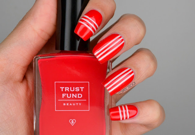Trust Fund Beauty  Taping Nail Art with Gossip Mag and Rude Nudes Review