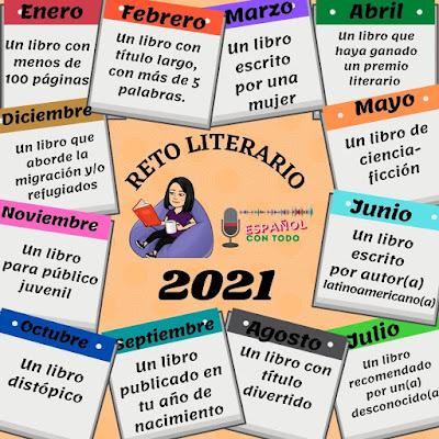 reto literario 2021