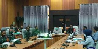 Plt Bupati Ikuti Paparan Pelaksanaan TMMD di Silo
