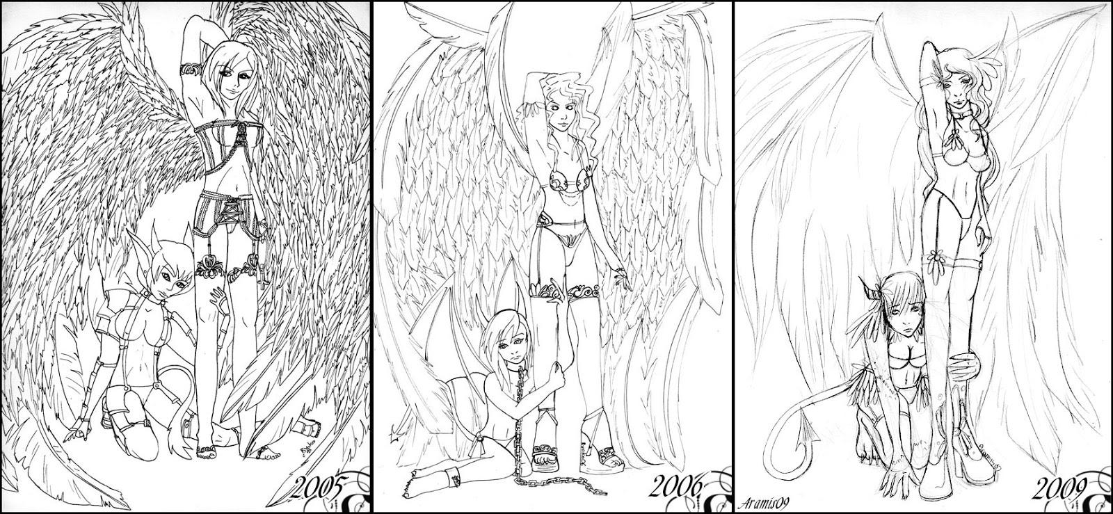 Carnet - mai 2017 - - Page 2 Angel_and_demon___evolution_by_ryokolila