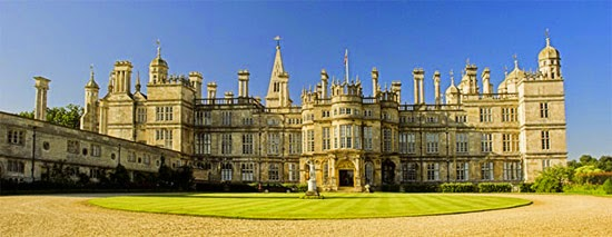 Burghley house fachada norte