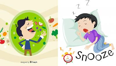 Penyebab kenapa sesudah makan tidak boleh tidur