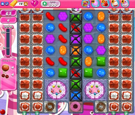 Candy Crush Saga 500