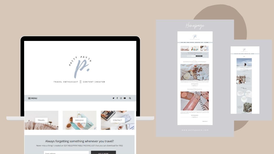 re-launch blog thru branding