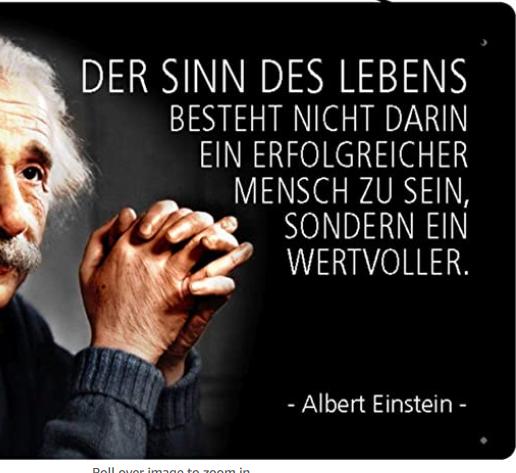 Zitatforschung Der Sinn Des Lebens Besteht Nicht Darin Ein Erfolgreicher Mensch Zu Sein Sondern Ein Wertvoller Albert Einstein Angeblich