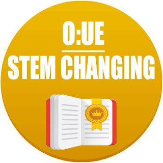 Stem changing verbs: O:UE in spanish