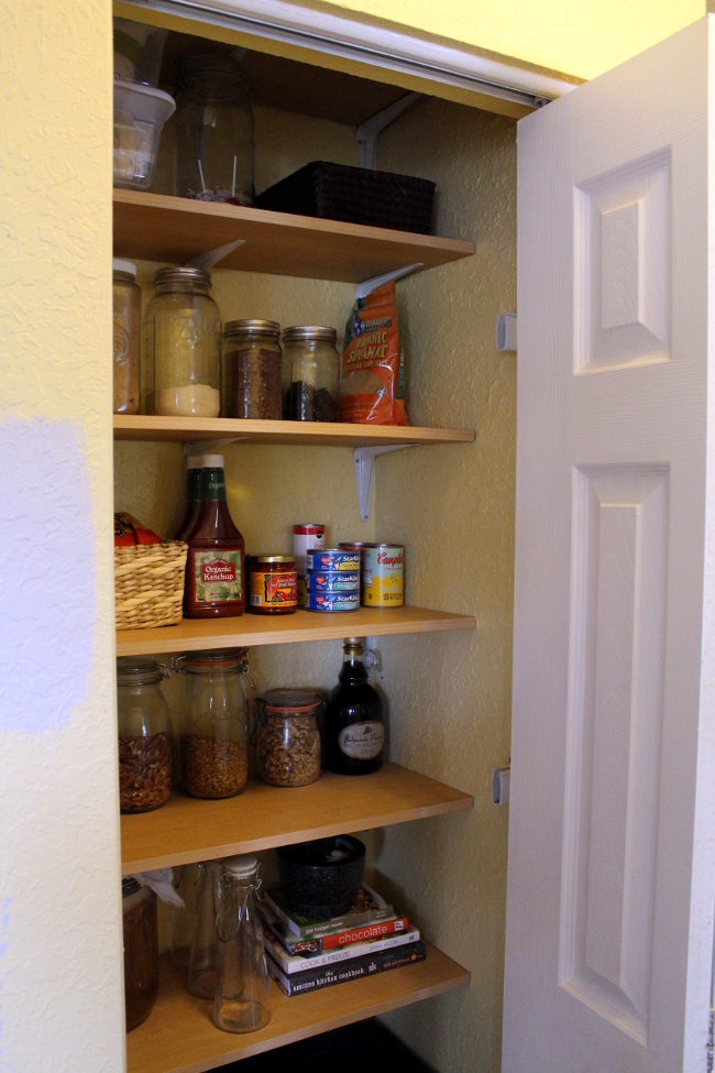 Closet Pantry Shelves