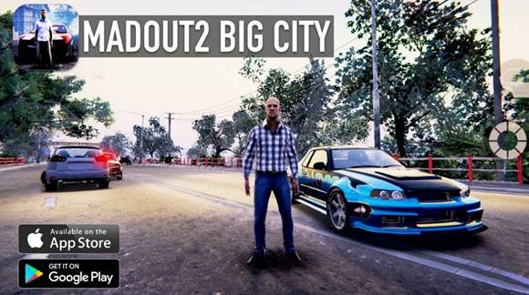 Free Download MadOut2 BigCityOnline v5.6 MOD Apk Terbaru v5.6 (Unlimited Money) + OBB DATA