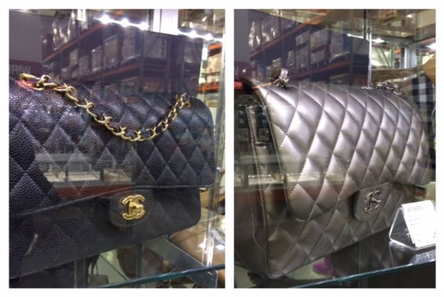 81b60069b6bc97 Thie week, Costco's designer showcase held a large size black Classic Flap  with gold hardware in caviar leather. The price is $3700 from a retail  price of ...