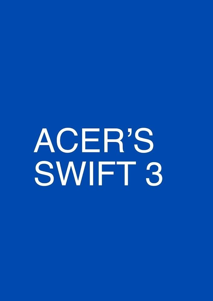 ACER'S SWIFT 3 هو جهاز كمبيوتر محمول للطلاب